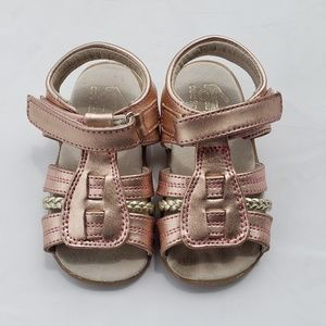 See Kai Run Sandals Size 7 Rose Gold Shoes